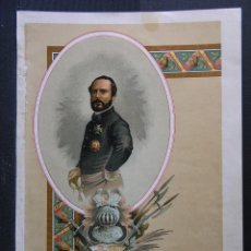 Arte: LOTE 10 CROMOLITOGRAFÍAS .- ED.FELIPE GONZÁLEZ ROJAS (MADRID) - 1894 - (VER DESCRIPCIÓN). Lote 97093535