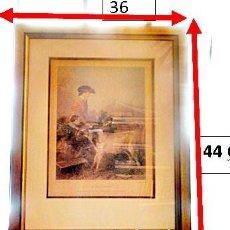 Arte: GRABADO: EN EL CAMPO - IN THE PASTURE .POR COUSEN SCULP Y R.ANSDELL A.R.A PINK.. Lote 169387608