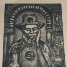 Arte: (M) AGUAFUERTE ORIGINAL DE GEORGES ROUAULT - XINO 1921 , 64,5X50 CM. ORIGINAL. Lote 169410172