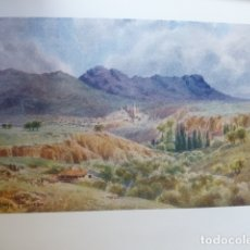 Arte: ALAVA LA RIOJA ALAVESA VISTA CROMOLITOGRAFIA 1905 POR ARTISTA INGLES WIGRAM. Lote 176049368