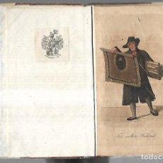 Arte: COLECCION DE 8 CROMOLITOGRAFIAS. ENCUADERNADOS. A COLOR. DIFERENTES OFICIOS / MERCADERES. VER FOTOS. Lote 176721263