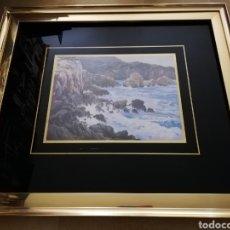 Arte: CUADRO PAISAJE (J. COLL SOTOMAYOR) REPRODUCCIÓN. Lote 176765602