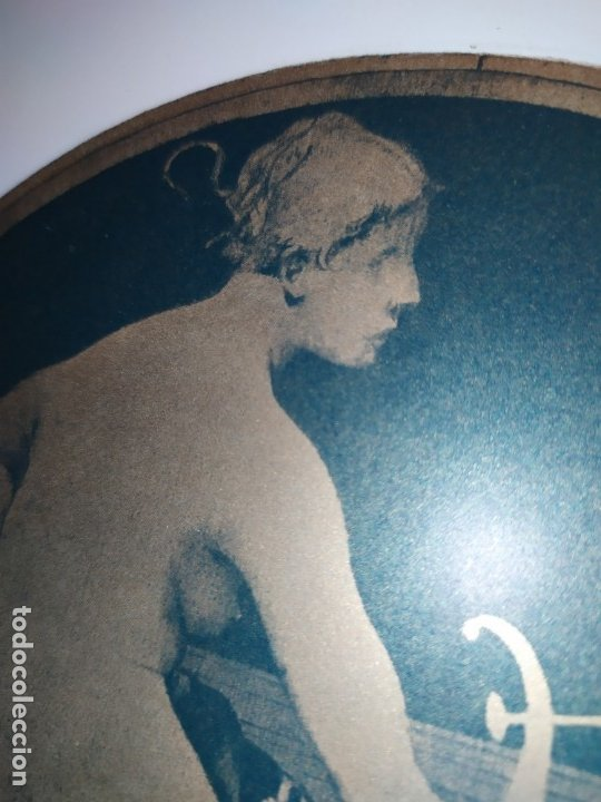 Arte: CROMOLITOGRAFIA DEKORATIVE VORBILDER JULIUS HOFFMANN VERLAG 6 LÁMINAS UNA DOBLE ÚNICAS - Foto 4 - 177965349