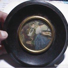 Arte: CROMOLITOGRAFÍA ESCENA COSTUMBRISTA DE MÚSICOS. PRINCIPIOS S. XX.. Lote 179106402