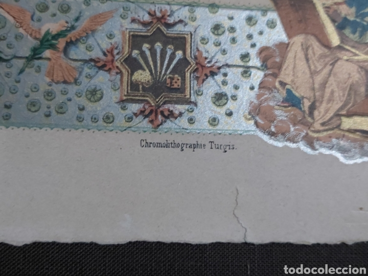 Arte: CROMOLITOGRAFIA S.XIX DE A. RACINET INV ET LITH / CHROMOLITOGRAPHIE TURQIS - Foto 4 - 182044207