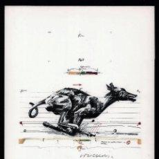 Art: VLADIMIR VELICKOVIC PERRO FOTOLITOGRAFÍA OFFSET FIRMADA A LÁPIZ NUMERADA 1389/ 5000 ED BOLAFFIARTE. Lote 184734366