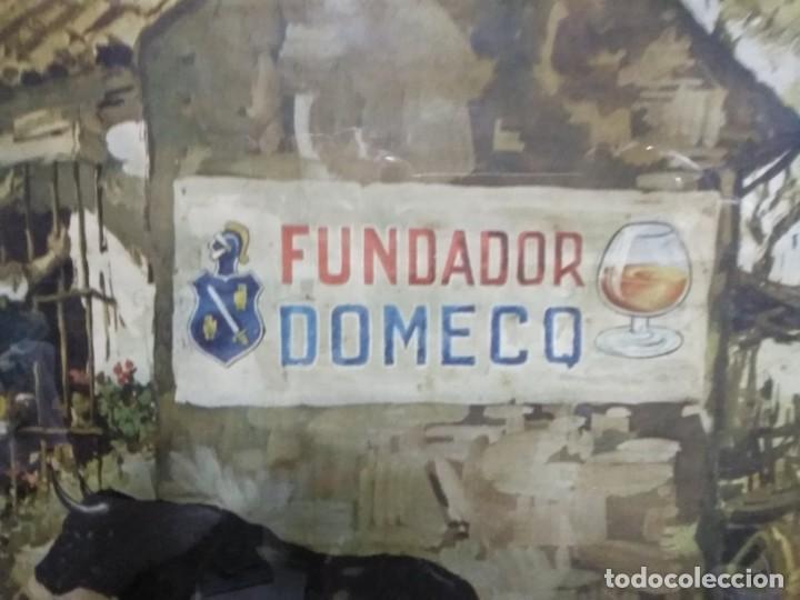 Arte: Cromolitografia antigua de JUAN LARA - FUNDADOR DOMECQ - Foto 15 - 184760088