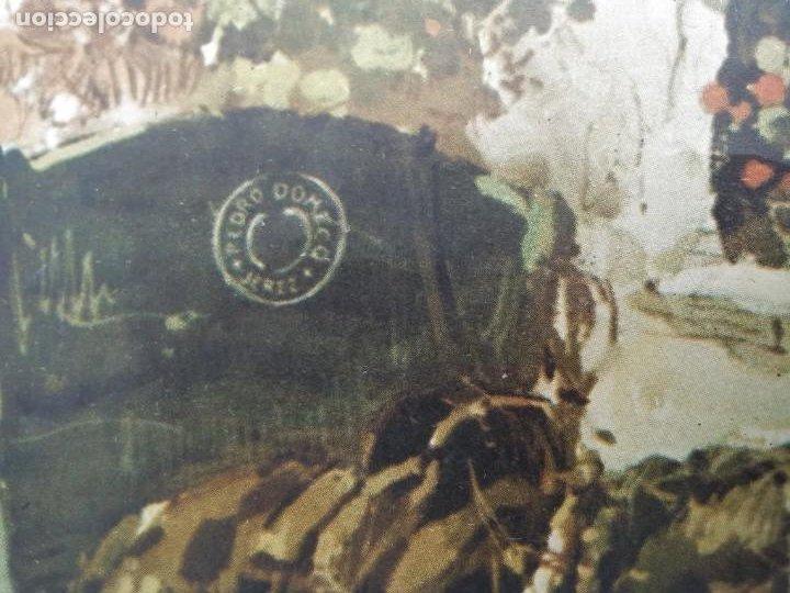 Arte: Cromolitografia antigua de JUAN LARA - FUNDADOR DOMECQ - Foto 9 - 184760088