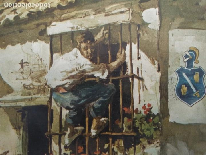 Arte: Cromolitografia antigua de JUAN LARA - FUNDADOR DOMECQ - Foto 12 - 184760088