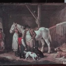 Arte: CRONOGRAFÍA DE TEMA COSTUMBRISTA DE PINTURA ANTIGUA. Lote 190919968