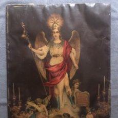 Arte: SAN RAFAEL ARCANGEL. CUSTODIO DE CORDOBA. CROMOLITOGRAFÍA ANTIGUA (H.1930?). Lote 192810456