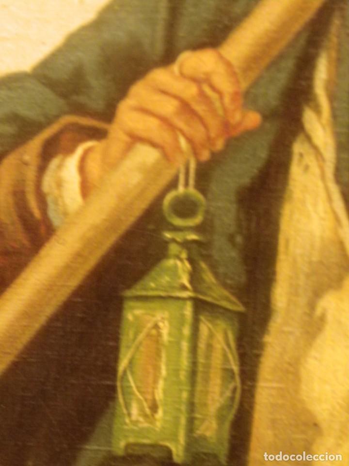 Arte: Pareja de pescadores.Cromolitografía S-XIX - Foto 10 - 193570006