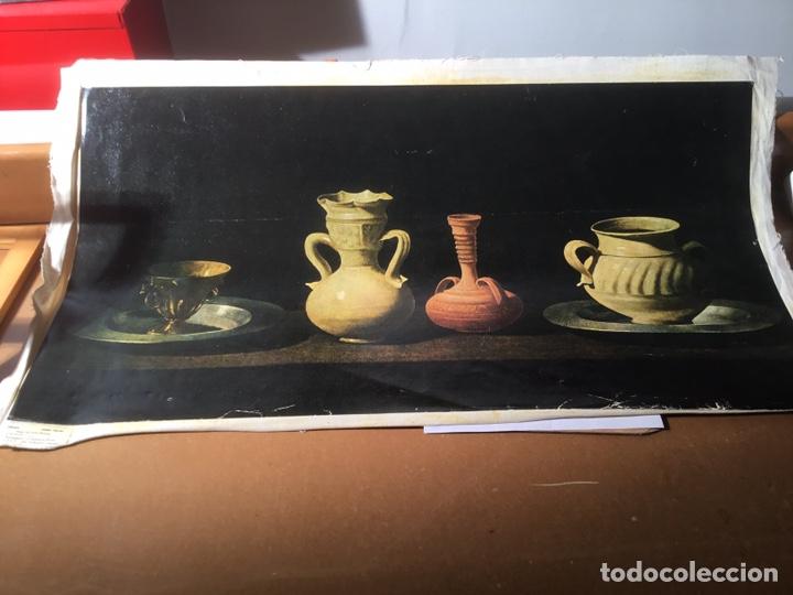 BODEGÓN ZURBARAN, TÉCNICA OLEOGRABADO POR EL PRADO , MEDIDAS 75 X 40 CM (Arte - Cromolitografía)