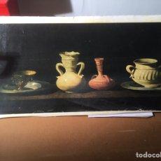 Arte: BODEGÓN ZURBARAN, TÉCNICA OLEOGRABADO POR EL PRADO , MEDIDAS 75 X 40 CM. Lote 193759693