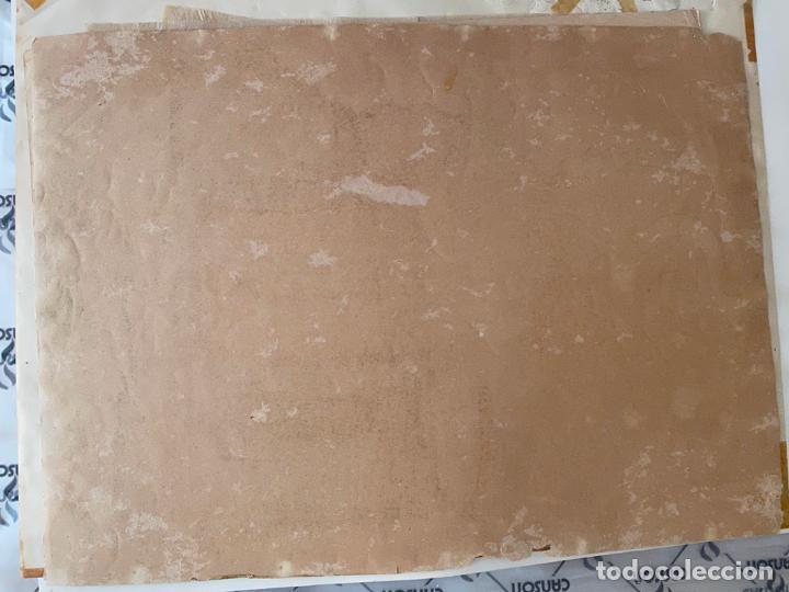 Arte: cromolitografía original de alcalá MÁLAGA , santo . medidas 50 x 36,5 cm. - Foto 2 - 193983456