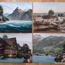 Arte: 4 BONITAS CROMOLITOGRAFIAS. Lote 194008768