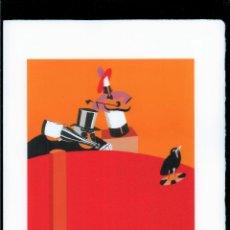 Arte: EDUARDO ARROYO FIESTA REPRODUCCIÓN OBRA IMPRESIÓN DIGITAL NUMERADA A LÁPIZ 39/300 FIRMADA EN PLANCHA. Lote 198021911