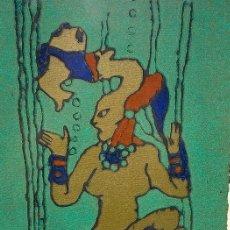 Arte: LITOGRAFÍA GREOGLIO?. SELLO JEAN RIGAUX. Lote 199169730