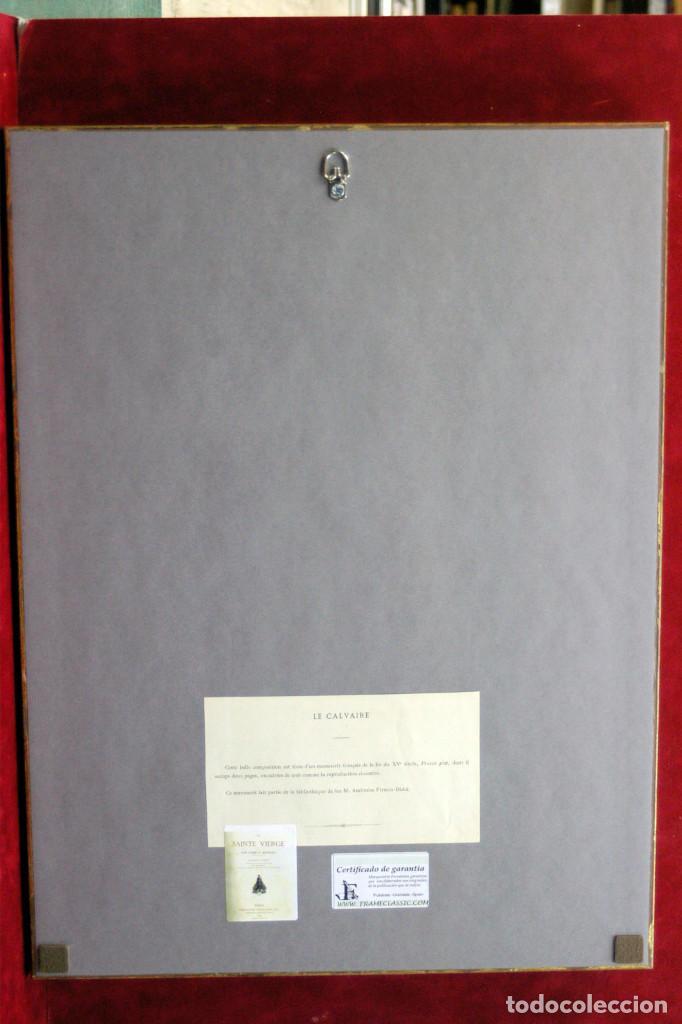 Arte: Le calvaire Cromolitografia Firmin Didot 1877 - Foto 4 - 199406460