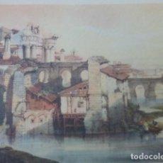 Arte: CORDOBA MOLINO ARABE ANTIGUA CROMOLITOGRAFIA 22 X 32 CMTS. Lote 200107677
