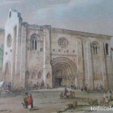 Arte: ZAMORA IGLESIA DE LA MAGDALENA ANTIGUA CROMOLITOGRAFIA 24 X 32 CMTS. Lote 200109243