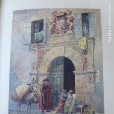 Arte: LEON ANTIGUO PALACIO CROMOLITOGRAFIA 1905 POR ARTISTA INGLES WIGRAM. Lote 200159620