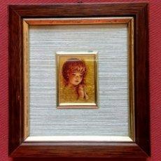 Arte: CROMOLITOGRAFIA - ORO FOGLIA - 23 KT. - EDICION LIMITADA. Lote 200257336