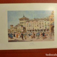 Arte: TOLEDO ZOCODOVER CROMOLITOGRAFIA W.COLLINS ARTISTA INGLES 1905 15 X 22,5 CMTS. Lote 200399408
