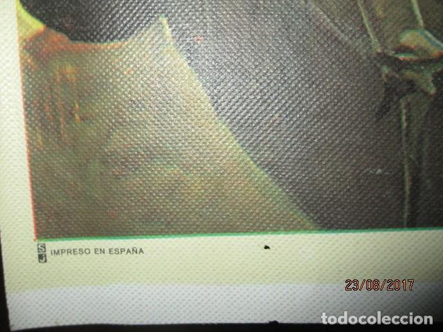 Arte: COMIENDO EN BARCA MUSEO SOROLLA CROMOLITOGRAFIA ANTIGUA EN lienzo IMPRIME J.S. - Foto 6 - 154129886