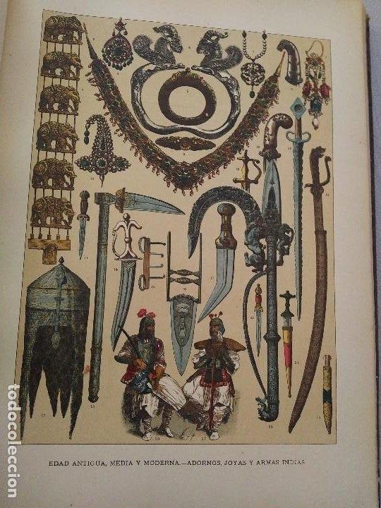 Arte: EXCEPCIONAL VOLUMEN SIGLO XIX CON MÁS DE 170 CROMOLITOGRAFIAS COMPENDIO DE LA E. ANTIGUA A MODERNA - Foto 18 - 201107672