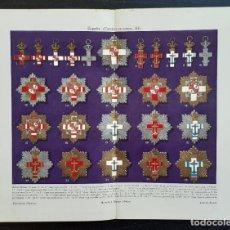 Arte: MEDALLAS DE ORDENES MILITARES - CONDECORACIONES - CRUCES - ORDEN DE ISABEL LA CATÓLICA, CARLOS III. Lote 203766857
