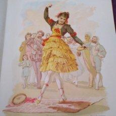 Arte: FLOR DEL GRANADOLIT DE C VERDAGUER J SIMON 1878 ILUSTRACION MODERNISTA MUJER FLOR. Lote 204315913