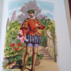 Arte: GERANIO LIT DE C VERDAGUER J SIMON 1878 ILUSTRACION MODERNISTA FLOR. Lote 204316050
