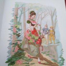 Arte: MADRESELVA LIT DE C VERDAGUER J SIMON 1878 ILUSTRACION MODERNISTA FLOR MUJER. Lote 204316382