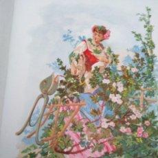 Arte: OJIACANTA LIT DE C VERDAGUER J SIMON 1878 ILUSTRACION MODERNISTA FLOR MUJER. Lote 204316545