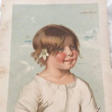 Arte: LOTE CON 4 CROMOLITOGRAFÍAS, EDITADAS POR FISCHER & WITTIG, LEIPZIG, CON FECHAS DE 1887. Lote 206301846