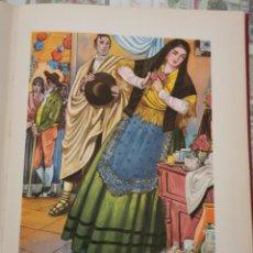 Arte: SORIA, LA NOVIA, CROMOLITOGRAFIA AÑOS 40 TEODORO DELGADO ILUSTRADOR 24 X 32 CMTS. Lote 210441190