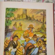 Arte: AVILA, AL MERCADO, CROMOLITOGRAFIA AÑOS 40 TEODORO DELGADO ILUSTRADOR 24 X 32 CMTS. Lote 210441322