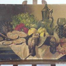 Arte: LÁMINA CROMOLITOGRÁFICA DEL SIGLO XIX. Lote 214166320