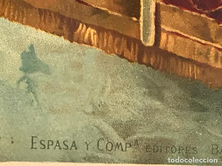 Arte: CUADRO DE JULIETA Y ROMEO ESTAMPACIÓN A COLOR-OLEOGRAFIA - Foto 5 - 214705936