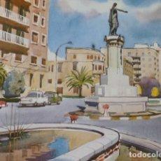 Arte: CASTELLON DE LA PLAZA PLAZA DEL REY CROMOLITOGRAFIA 20,5 X 22 CMTS. Lote 216932867