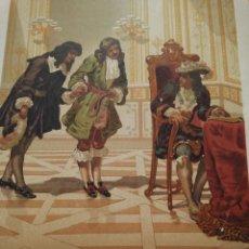 Arte: DOMINICO CASSINI, PRESENTADO A LUIS XIV POR COLBERT. Lote 217823847
