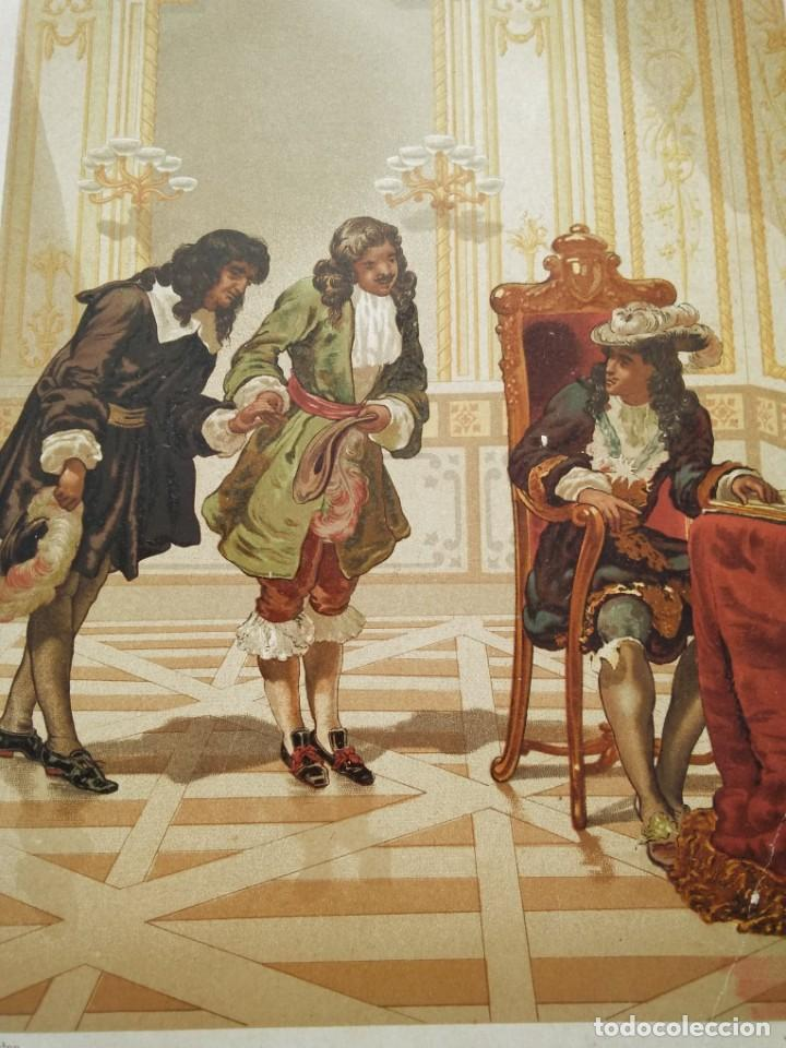 Arte: Dominico Cassini, presentado a Luis XIV por Colbert - Foto 3 - 217823847