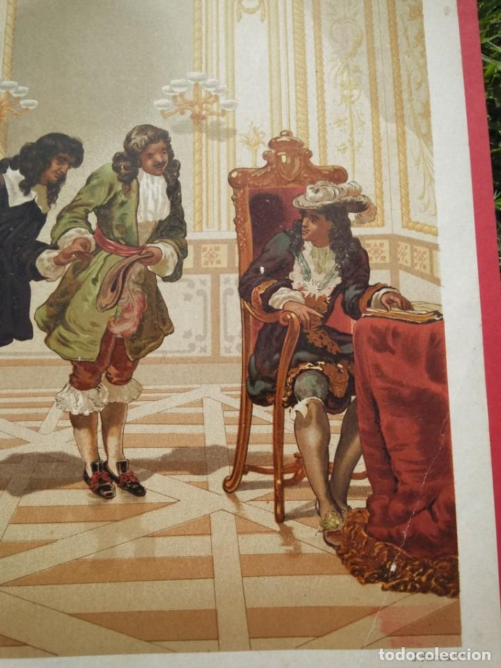 Arte: Dominico Cassini, presentado a Luis XIV por Colbert - Foto 4 - 217823847