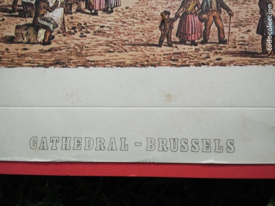 Arte: Cromolitografía antigua: Cathedral - Brussels, by John Coney - Foto 2 - 40576795