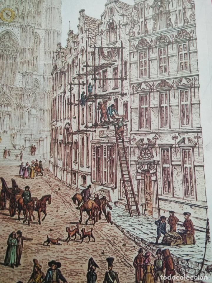 Arte: Cromolitografía antigua: Cathedral - Brussels, by John Coney - Foto 7 - 40576795