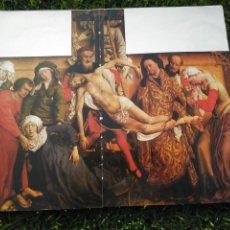 Arte: CROMOLITOGRAFIA RELIGIOSA JESUCRISTO. 39.7 X 30.9 CM. Lote 40576812