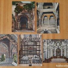 Art: 5 BONITAS CROMOLITOGRAFÍAS DE GRANADA.. Lote 220737741