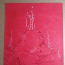 Arte: JOAN PONC (BARCELONA 1927-FRANCIA 1984) CARTEL LITOGRÁFICO 56X76 EXPO 1978. Lote 272911528