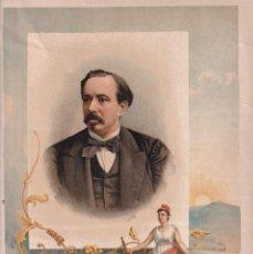 Arte: MANUEL RUIZ ZORRILLA. EL BURGO DE OSMA, 1833 - BURGOS, 1895. CROMOLITOGRAFÍA. Lote 223514252